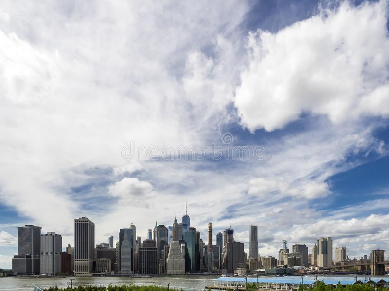 Manhattan skylyne stock photography