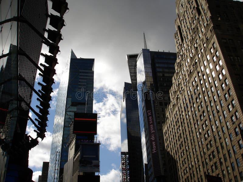 Manhattan skyscripers, NY stockbilder