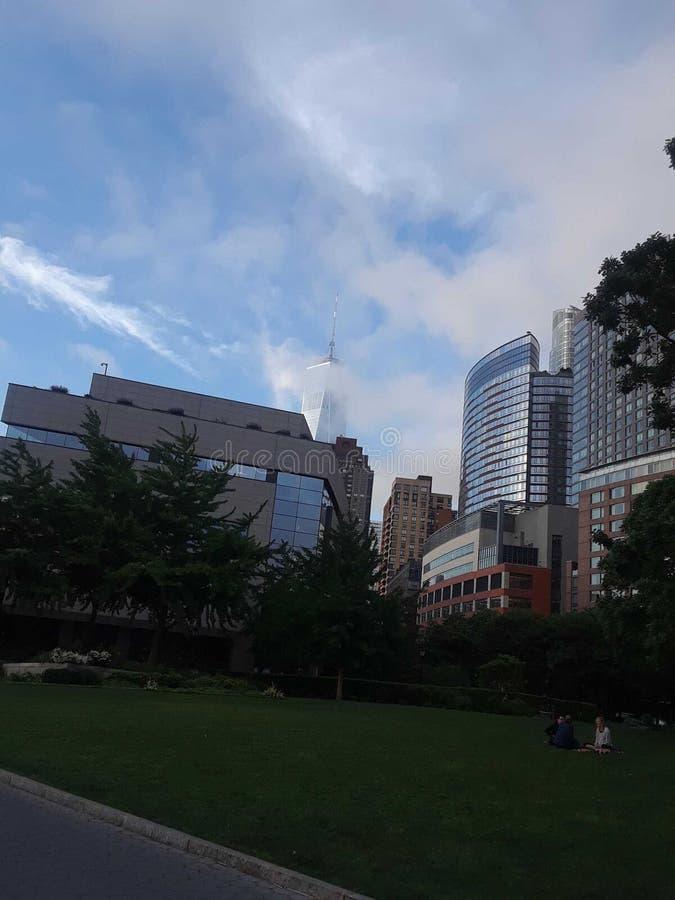 Manhattan-Stadtzentrum, New York stockfotos
