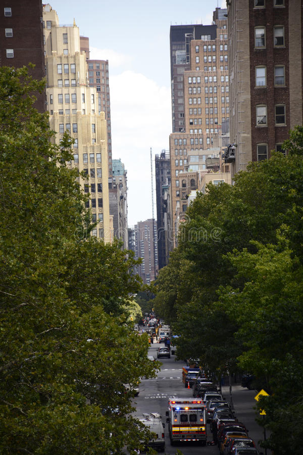 Manhattan Streets royalty free stock images