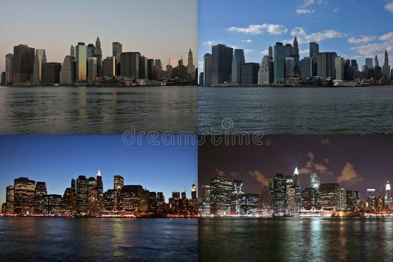 Download Manhattan Time Lapse Royalty Free Stock Photo - Image: 2307185