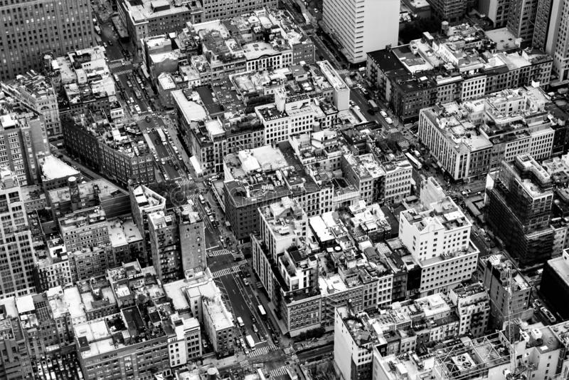 Manhattan van het One World-Waarnemingscentrum, de Stad van New York, de V.S. royalty-vrije stock foto's