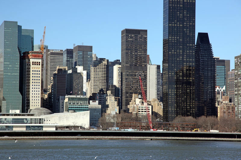 Download Manhattan, View From Long Island, USA Stock Image - Image: 37054615