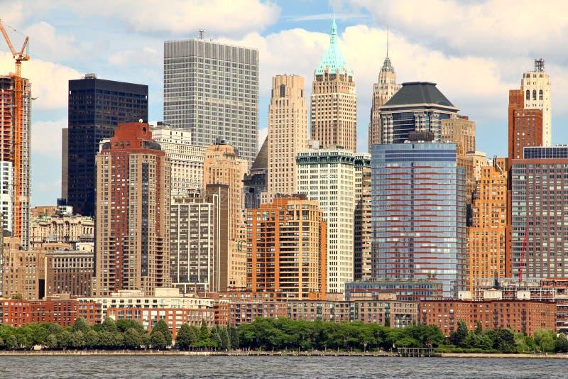 Manhattan West Side royalty free stock photos