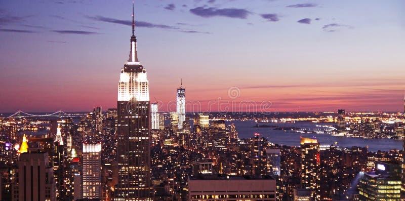 Manhattan widok zdjęcia stock