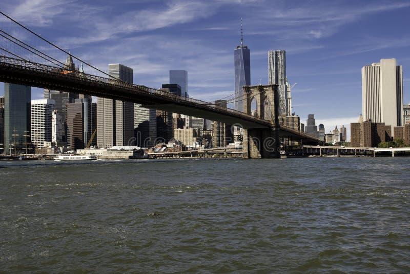 Download Manhattan Y Puente De Manhattan Foto de archivo - Imagen de puente, horizonte: 44850390
