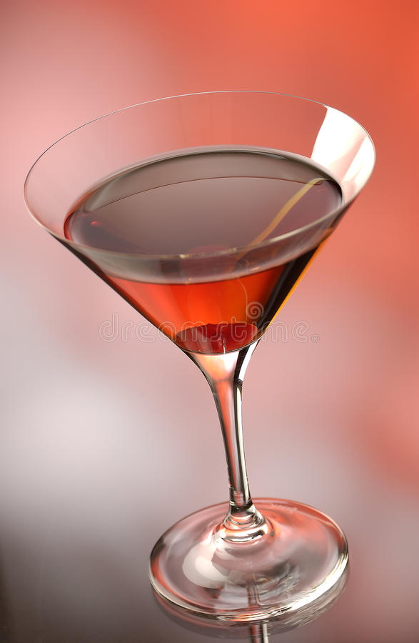 The Manhatten Cocktail royalty free stock photos