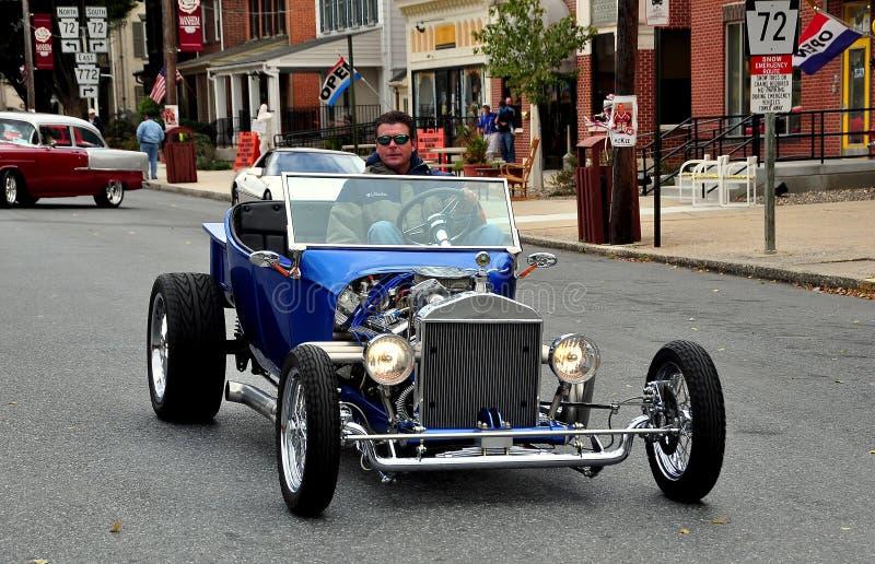 Manheim, PA : Car Show et défilé classiques image stock