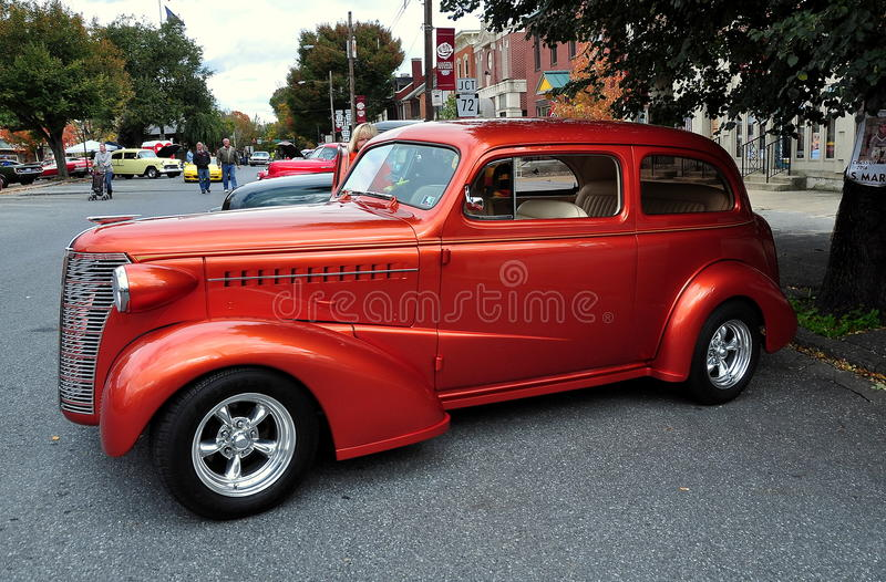 Manheim, PA: Vintage 1940's Automobile stock photo