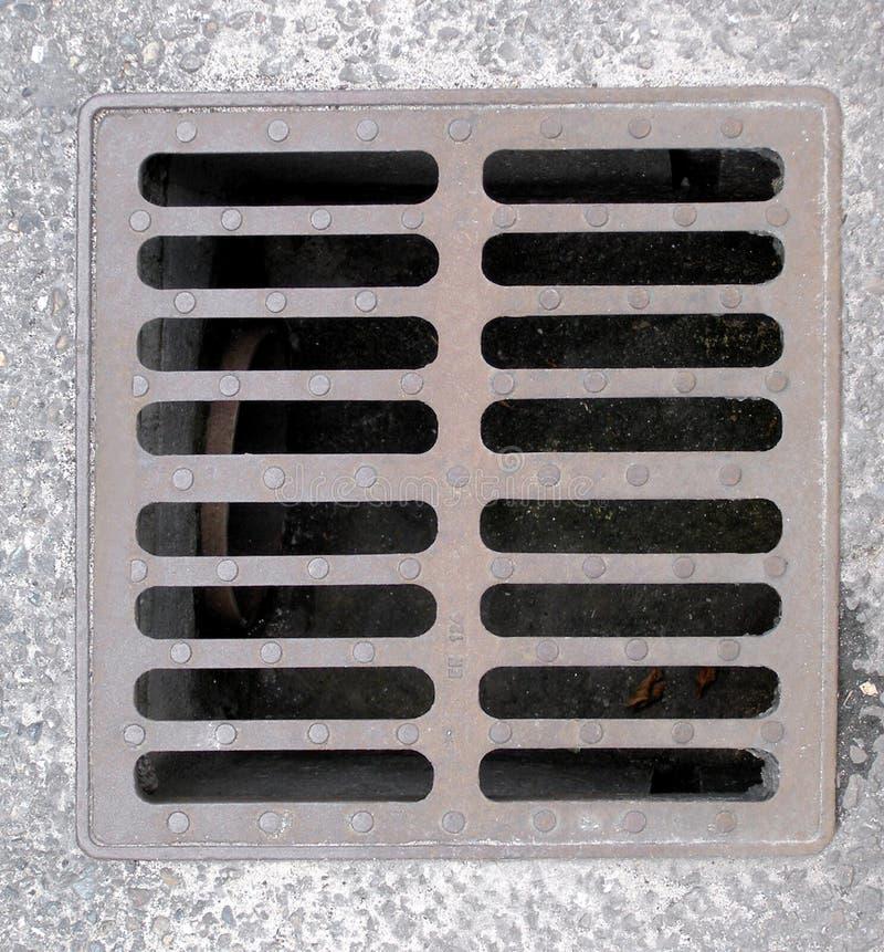 manhole arkivfoton