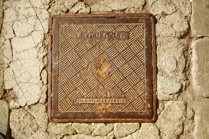 Download Manhole cover stock image. Image of cover, manhole, country - 21658345