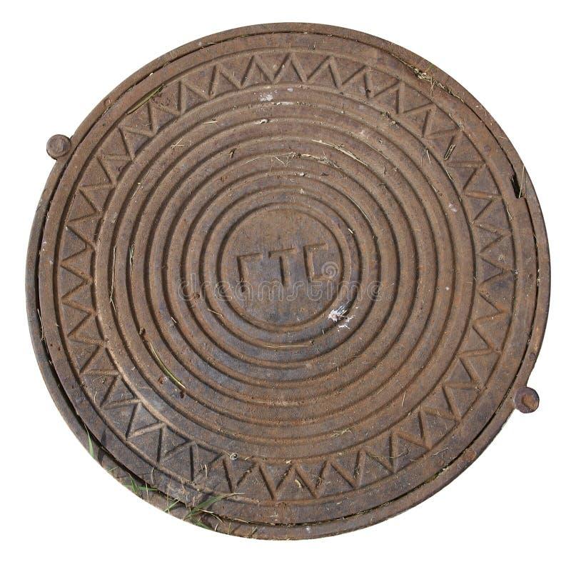 Manhole Cover royalty free stock photo