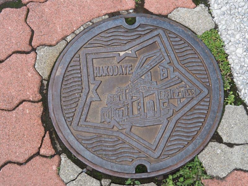 Manhole cover royalty free stock photos