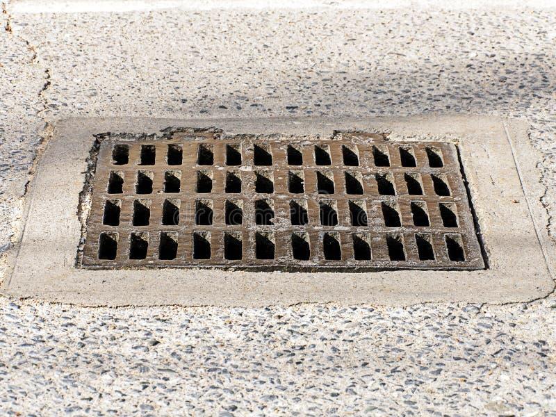 Manhole pokrywa zdjęcie stock