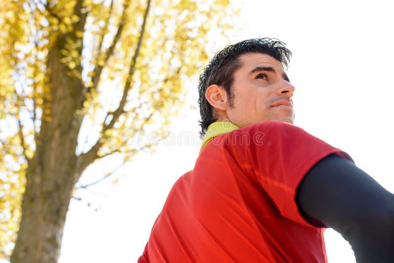 Download Manhood Of Handsome Sportsman Stock Image - Image: 27916997