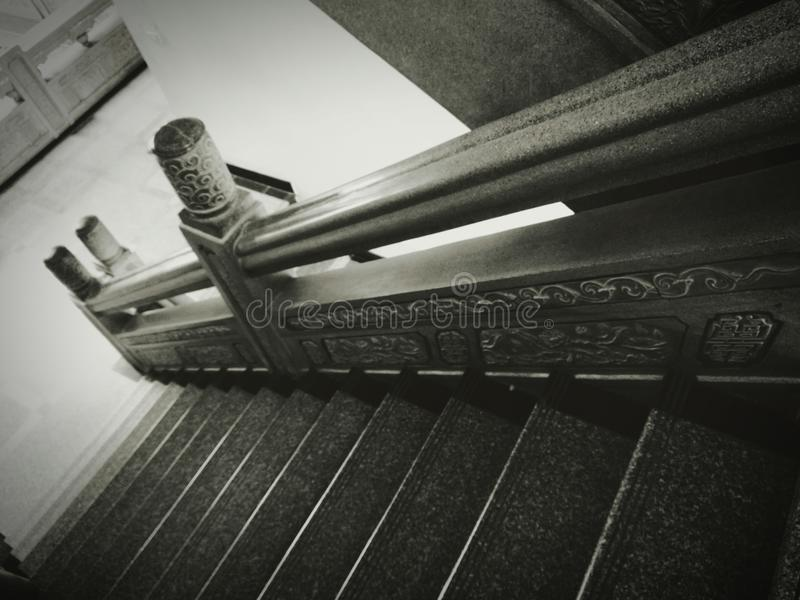 Manière d'escalier image stock