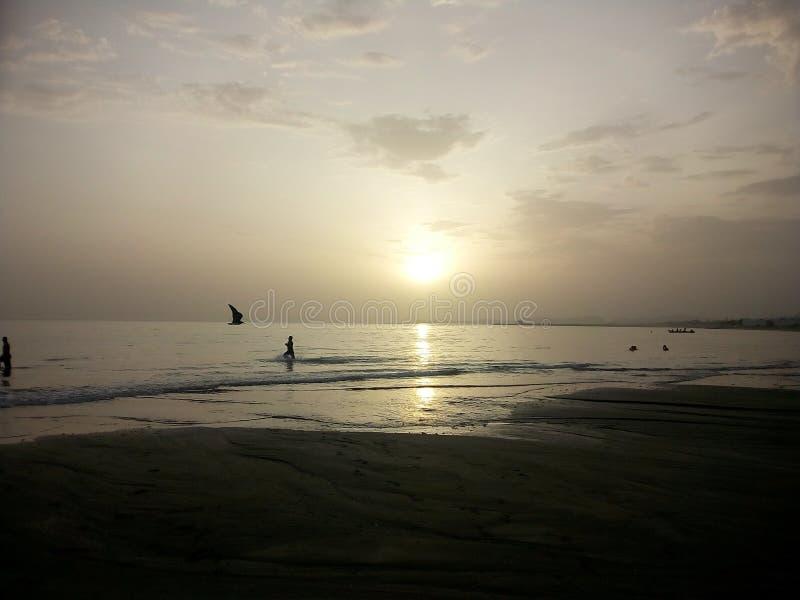 Manière d'océan arabe photographie stock