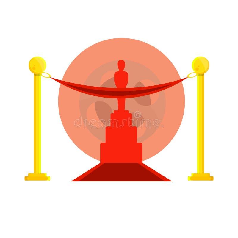 Manière de filmer le concept de récompense illustration libre de droits
