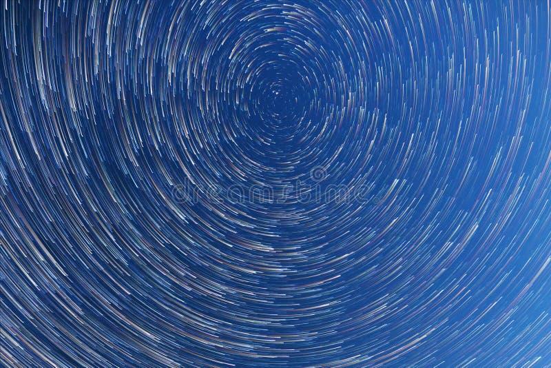 Manière laiteuse Étoiles de chute Mode de comète photos libres de droits