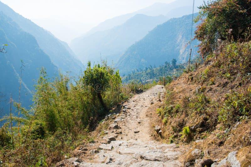 Download Manière Sur La Montagne Pour Le Trekking Photo stock - Image du course, trekking: 87703824