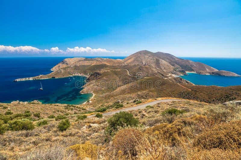 Mani приставает Грецию к берегу стоковая фотография rf