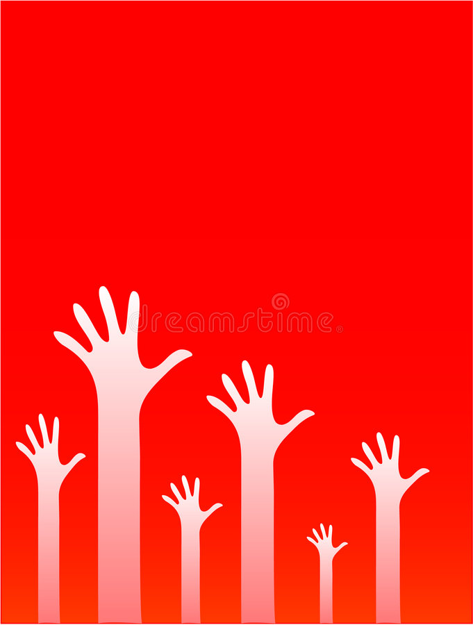 Mani illustrazione di stock