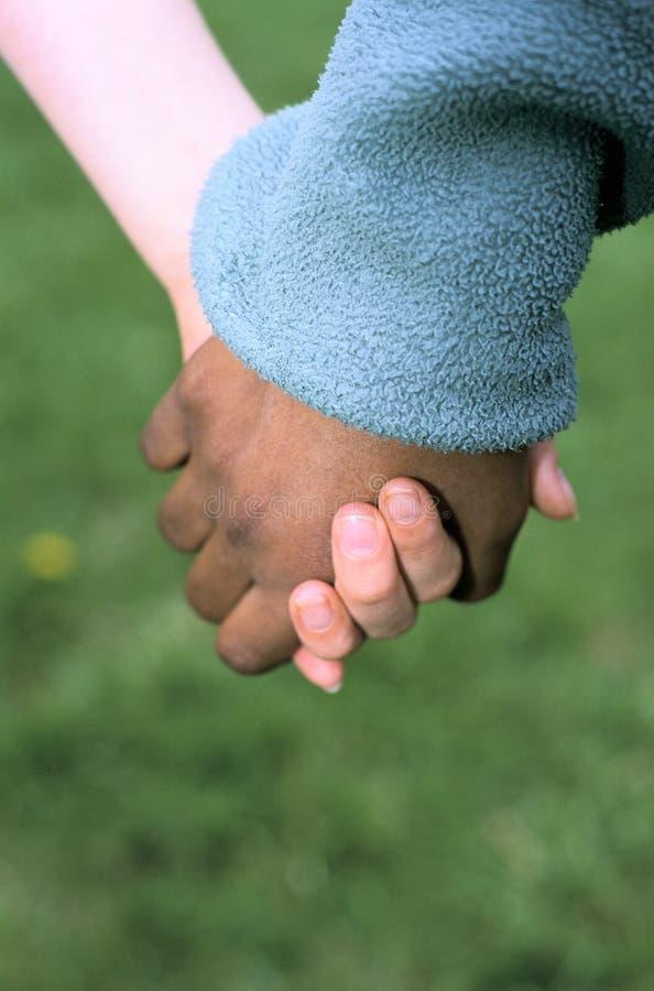 Mani in bianco e nero fotografie stock libere da diritti