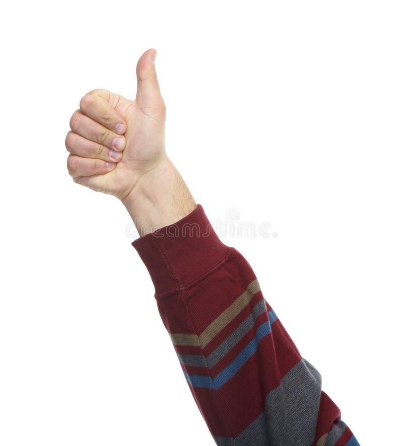 Mani con i gesti immagine stock libera da diritti