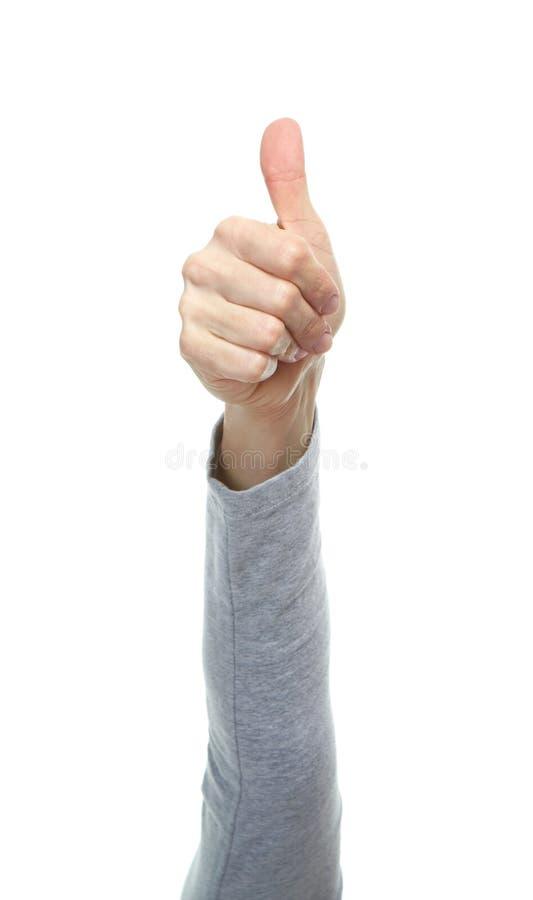 Mani con i gesti immagini stock