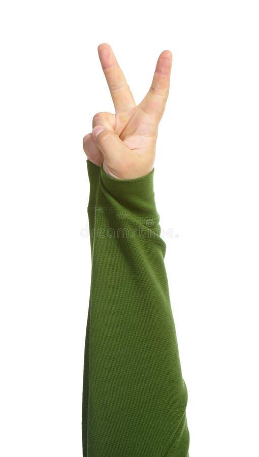 Mani con i gesti immagini stock libere da diritti