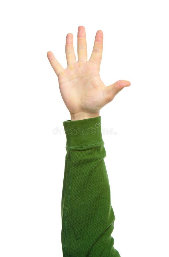 Mani con i gesti fotografie stock libere da diritti