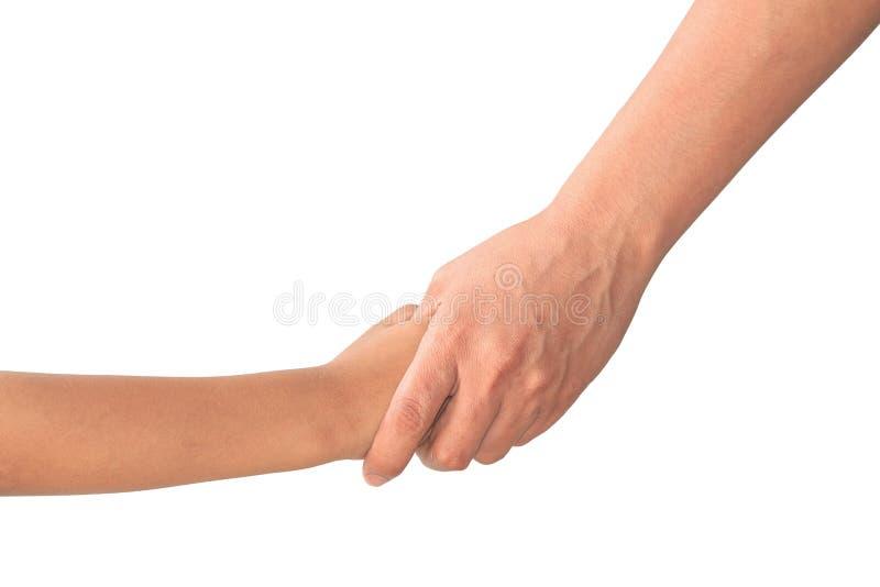 Mani dei bambini e della madre immagini stock libere da diritti