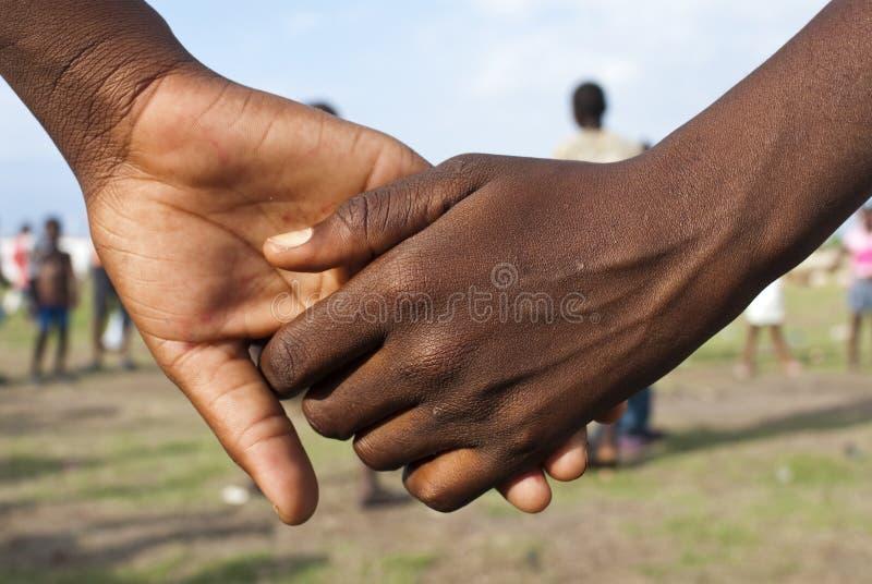 Mani della holding immagini stock libere da diritti