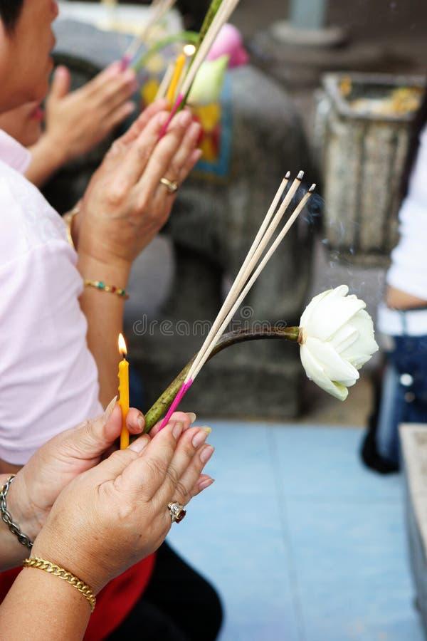 Mani di Buddhism immagine stock