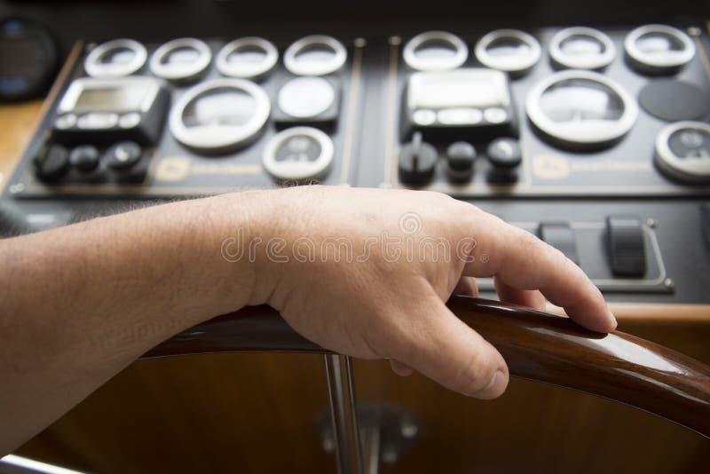 Mani di comandante fotografie stock libere da diritti