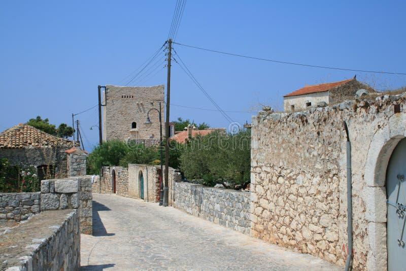 Mani - Griekenland stock afbeeldingen