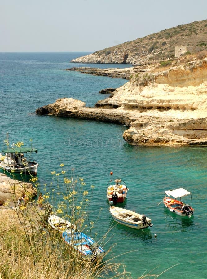 Mani Peninsula Greece stock afbeelding