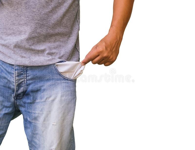 Mani in tasche dei loro jeans immagini stock libere da diritti