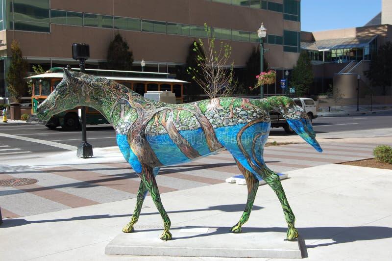 Mania 2010 del cavallo fotografia stock