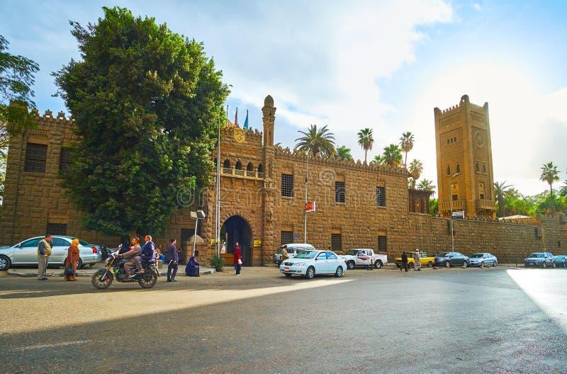 Manial宫殿复合体,开罗,埃及门面  库存照片