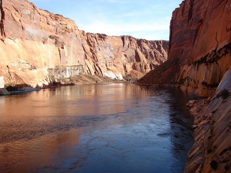 Manica del fiume Colorado fotografie stock libere da diritti