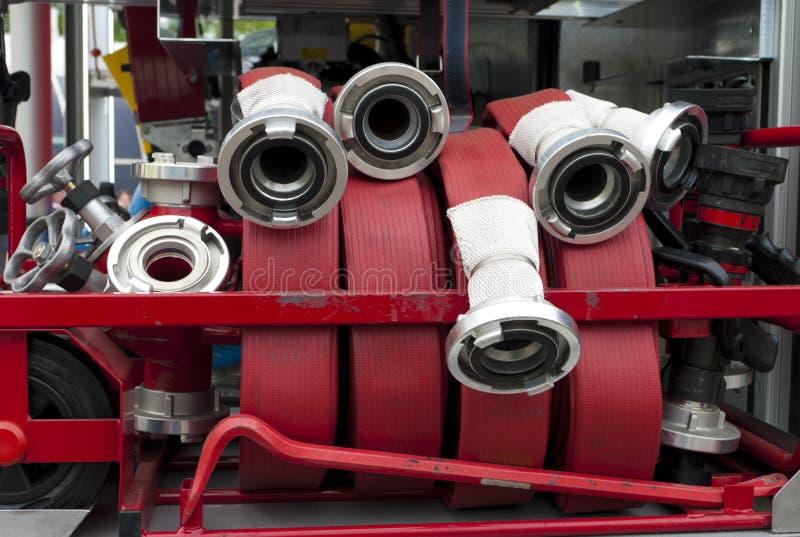 Manichette antincendio immagine stock libera da diritti
