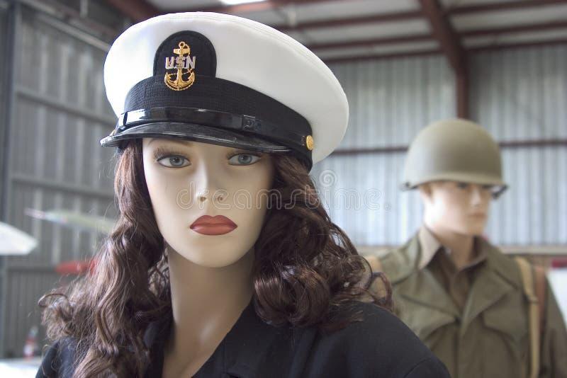 Manichini militari fotografia stock