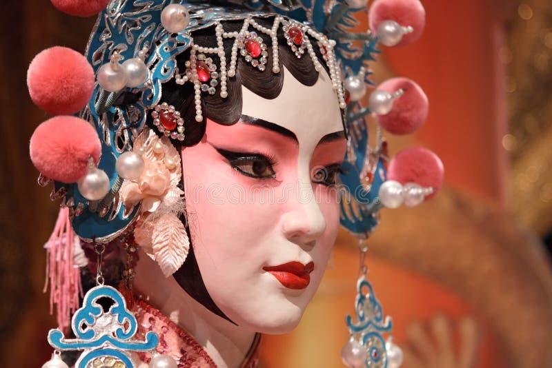 Manichino cinese di opera fotografia stock libera da diritti