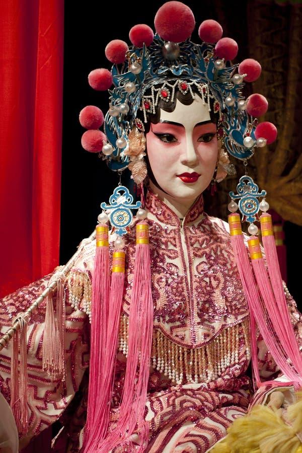 Manichino di opera di Cantonese fotografie stock libere da diritti