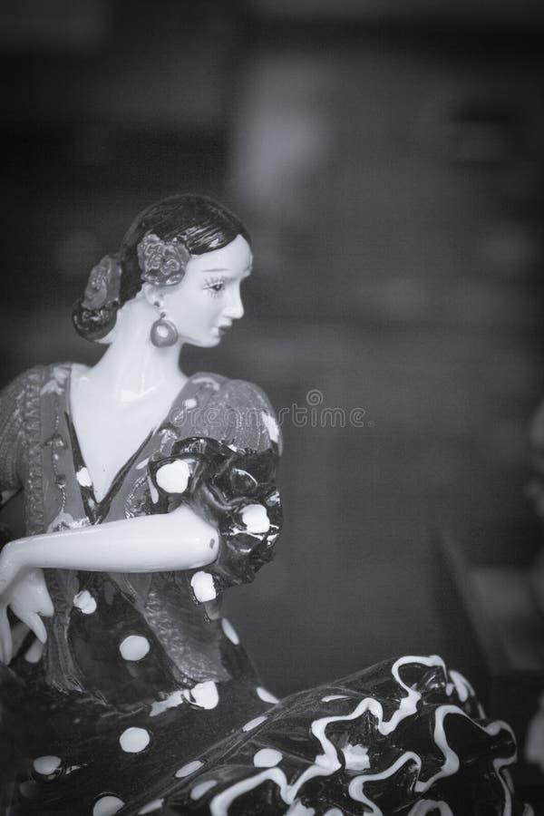 Manichino spagnolo di norma del ballerino fotografia stock libera da diritti