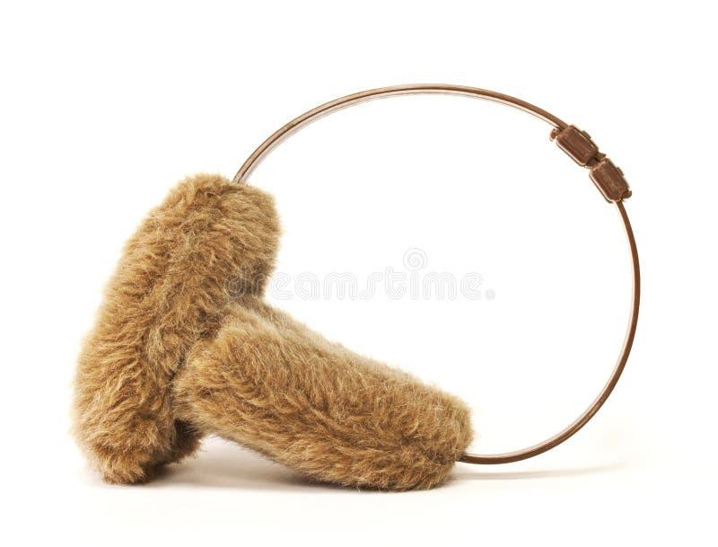 Manicotti dell'orecchio immagini stock libere da diritti