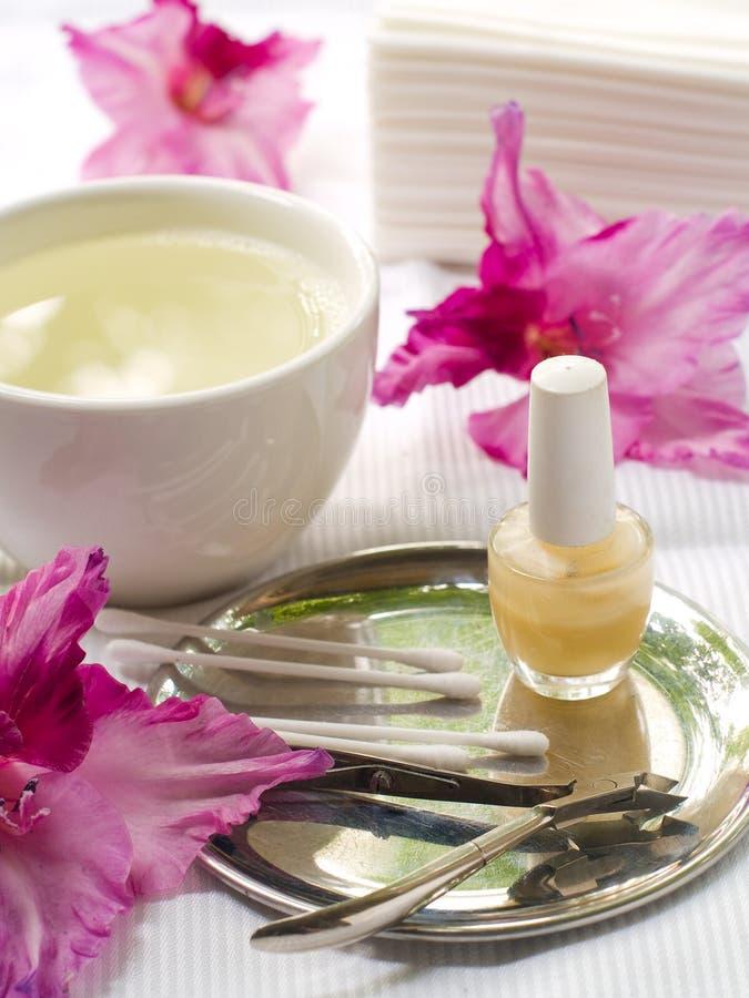 manicure прибора стоковые фотографии rf