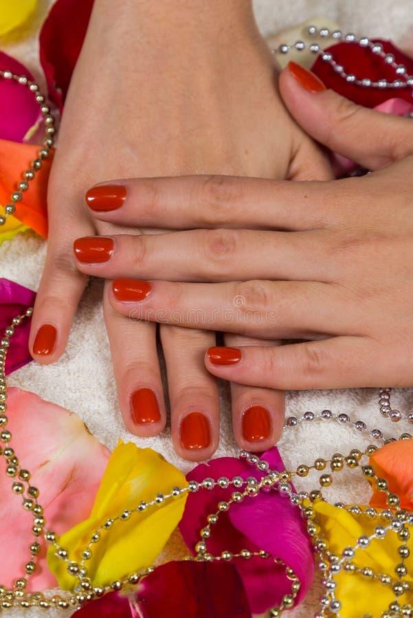 manicure славный стоковое фото rf