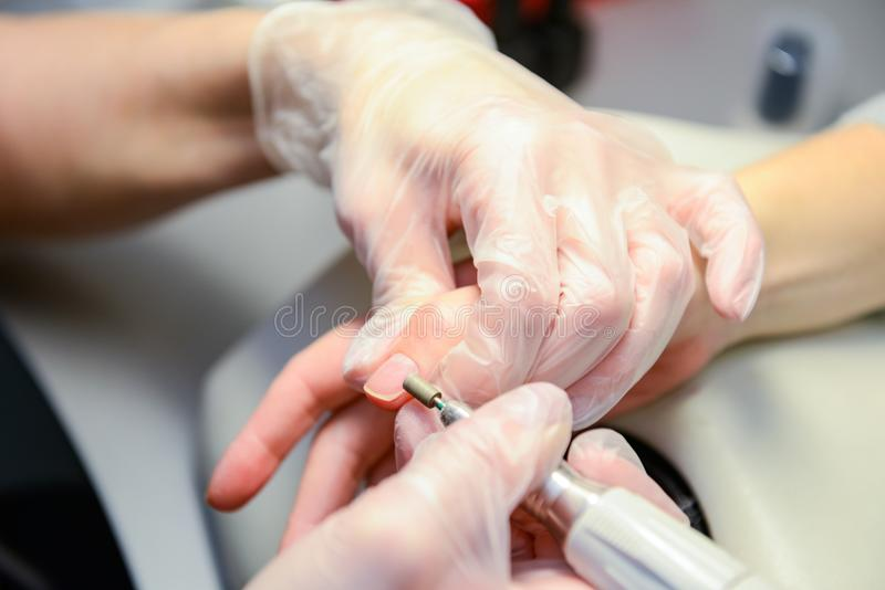 manicure royaltyfria foton